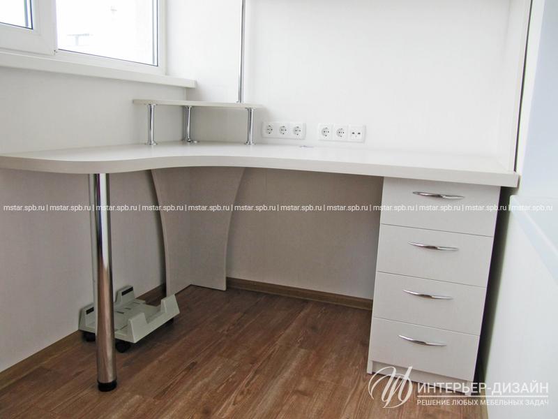 Компьютерный стол с надстройкой - санкт-петербург.