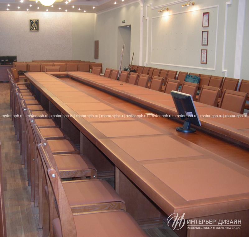 фото стол в зале