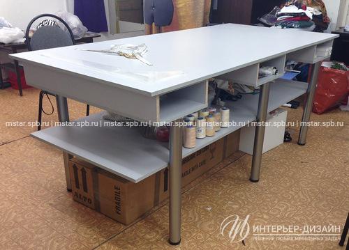 Раскройные столы - Столы для раскроя на заказ в СПб